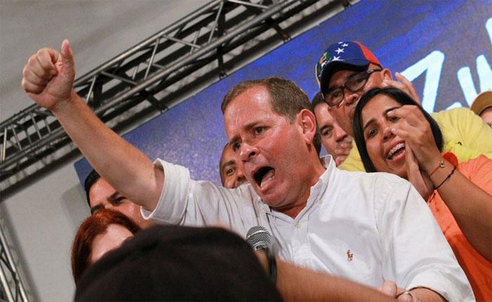Juan Pablo Guanipa gana primarias de la MUD para gobernación del Zulia