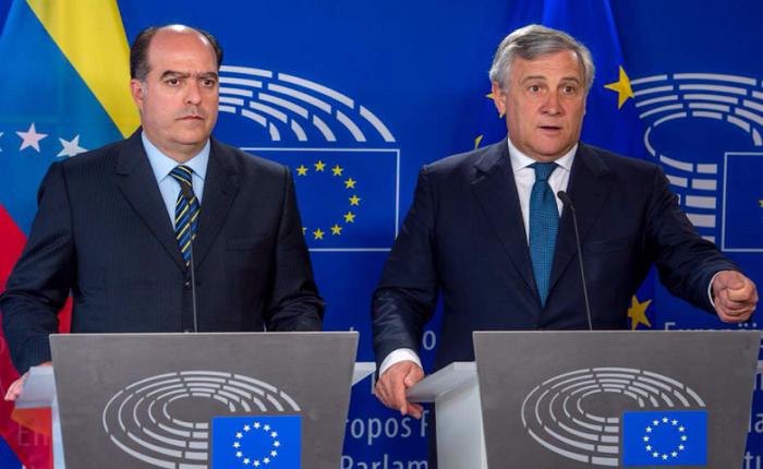 Julio Borges arranca gira de visitas a primeros ministros europeos y presidentes de parlamentos