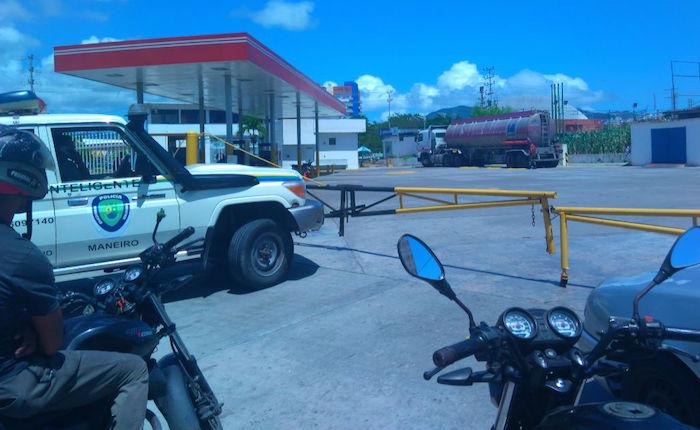 Margarita lleva 4 días sin combustible