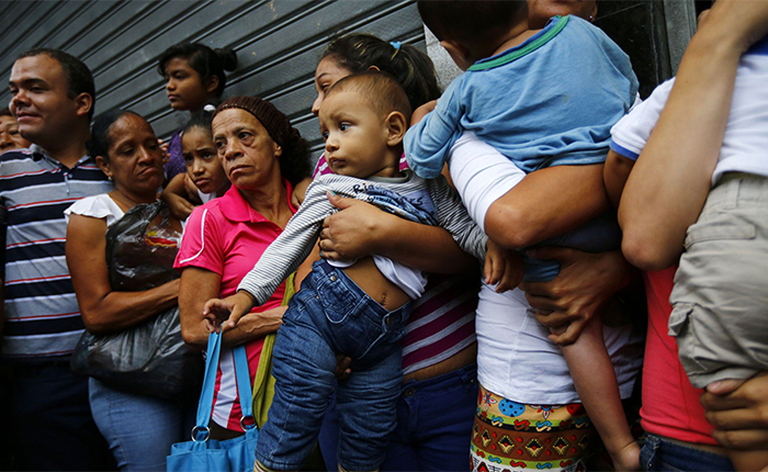 Resultado de imagen para familiares venezolanos