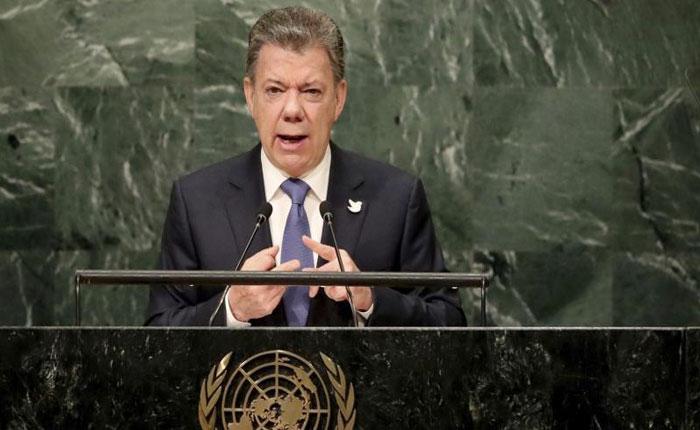 Santos, Temer y Macron abogaron en la ONU por restablecimiento de democracia en Venezuela