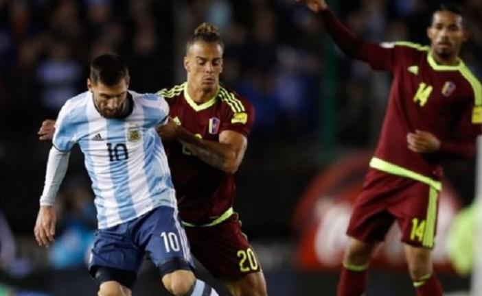 Venezuela complicó el Mundial Rusia 2018 a Argentina con un empate histórico