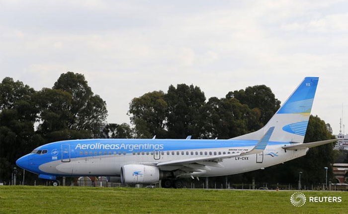 Aerolíneas Argentinas descontinúa vuelos a Venezuela