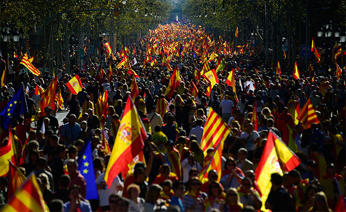 SPAIN-CATALONIA-POLITICS-DEMO