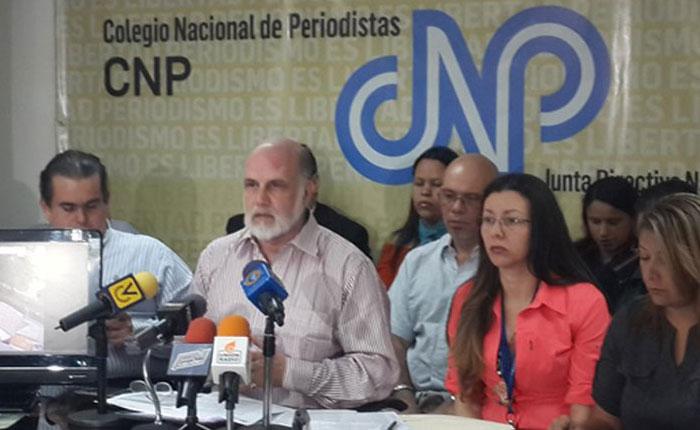 CNP exigió protección a periodistas para el 15 de octubre