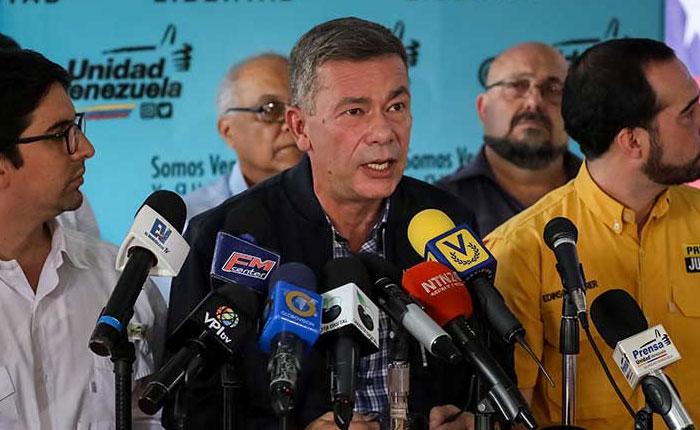 MUD pide a electores sufragar por candidatos electos en primarias