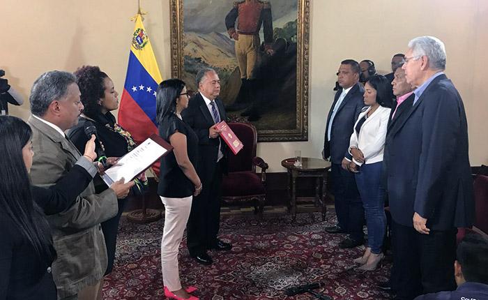 Gobernadores de AD se juramentaron ante la constituyente
