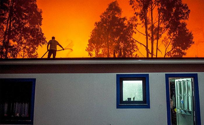 Suben a 31 los muertos en los incendios en Portugal