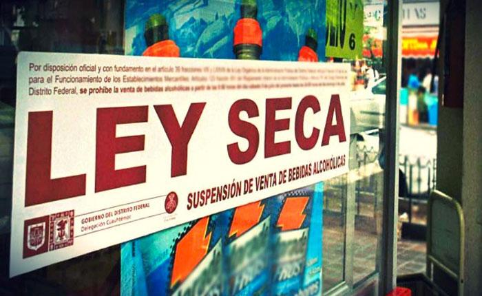 Ley seca finaliza mañana, prohibición de porte de armas es hasta el 3 de noviembre
