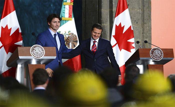 Canadá y México trabajarán por restaurar democracia en Venezuela