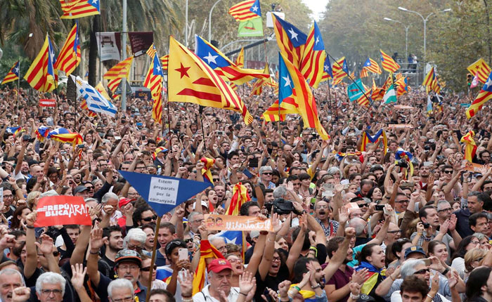 Estados Unidos y Unión Europea no reconocen independencia catalana