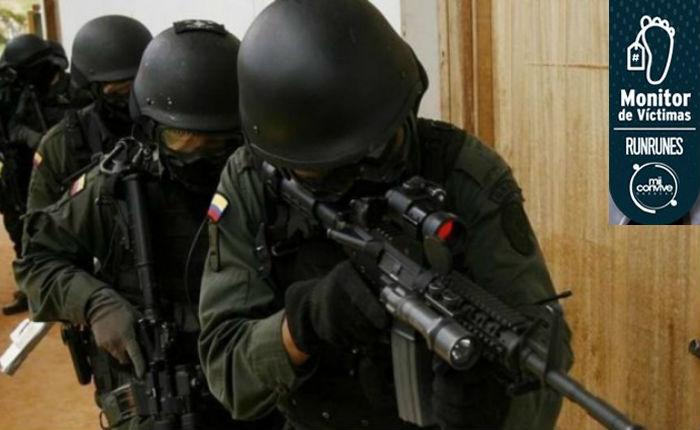 #MonitorDeVíctimas 35 % de los homicidios que ocurren en Caracas son cometidos por policías o militares