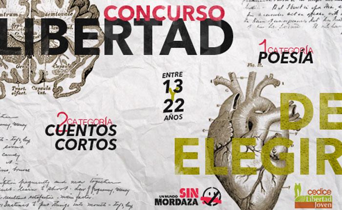 """Cedice Libertad y Un Mundo Sin Mordaza convocan al concurso """"Libertad de Elegir"""""""