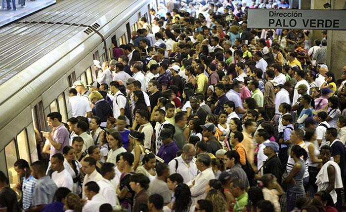 En 79% de las estaciones del Metro de Caracas hay fallas de aire acondicionado
