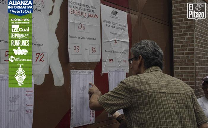 CNE migró por violencia centros electorales que nunca registraron protestas