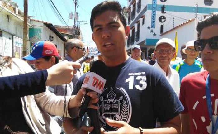 """Liberan al dirigente estudiantil Carlos """"Pancho"""" Ramírez"""