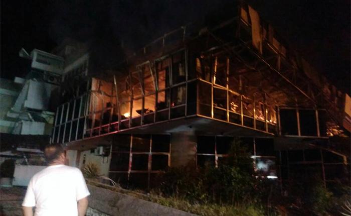 Motta Domínguez denunció incendio en Corpoelec Táchira