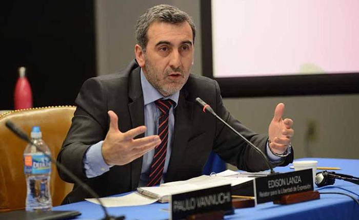 """""""Es más grave de lo que parece"""" dice relator especial de la CIDH sobre Ley contra el Odio"""