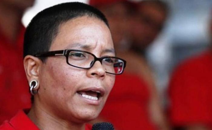 Erika Farías es la candidata del Psuv para la alcaldía de Libertador