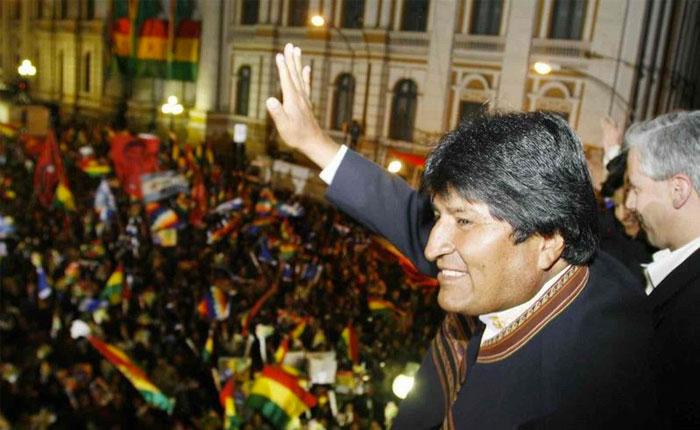 Autorizan cuarta postulación de Evo Morales a presidencia de Bolivia