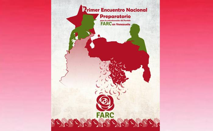 El partido FARC quiere crear un movimiento político en Venezuela