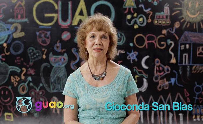Gioconda San Blas: Por la senda científica