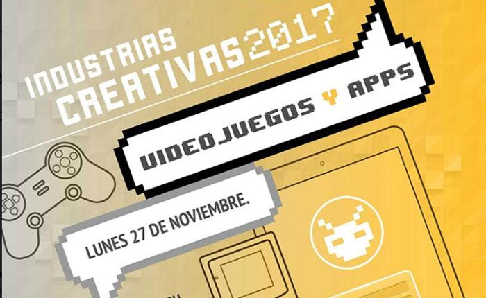 Abiertas inscripciones a Industrias Creativas Videojuegos y Apps para este #27Nov