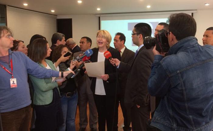 Ortega Díaz interpuso recurso ante TSJ en el exilio por decreto del Arco Minero