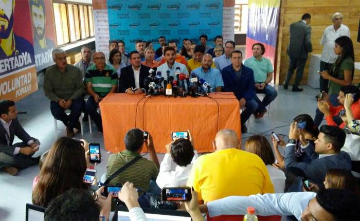 MUD afirma que acción contra Guevara no tiene legalidad ni legitimidad