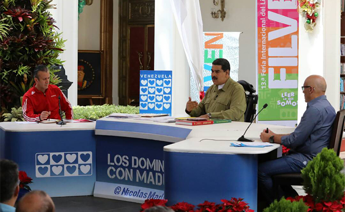 Maduro confirmó diálogo con oposición y anunció fiscalización a comercios