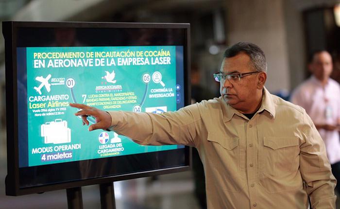 140 panelas de cocaína fueron incautadas en Dominicana provenientes de Venezuela