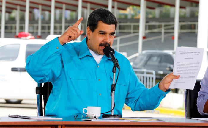 Maduro ordena pago del bono Pdvsa 2017 y reestructuración de la deuda externa