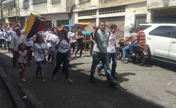 Omar Villalba: Sectores populares de Baruta son los más golpeados por la crisis alimentaria