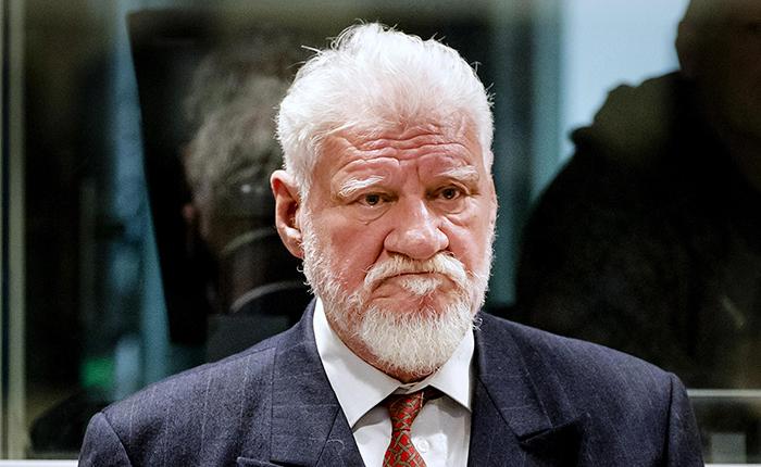 Criminal de guerra bosniocroata se suicida en la corte de La Haya