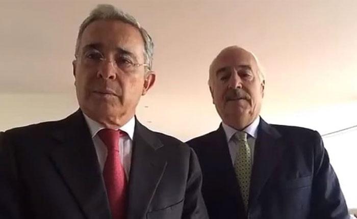 Uribe y Pastrana formaron alianza para elecciones presidenciales de 2018