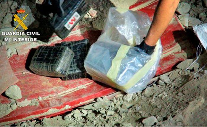 Incautan 4 toneladas de cocaína en España y Marruecos de organización asentada en Venezuela
