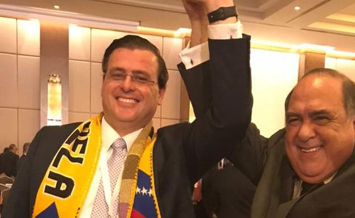 Venezolano asume vicepresidencia de la Federación Internacional de la Cruz Roja luego de victoria electoral en asamblea general