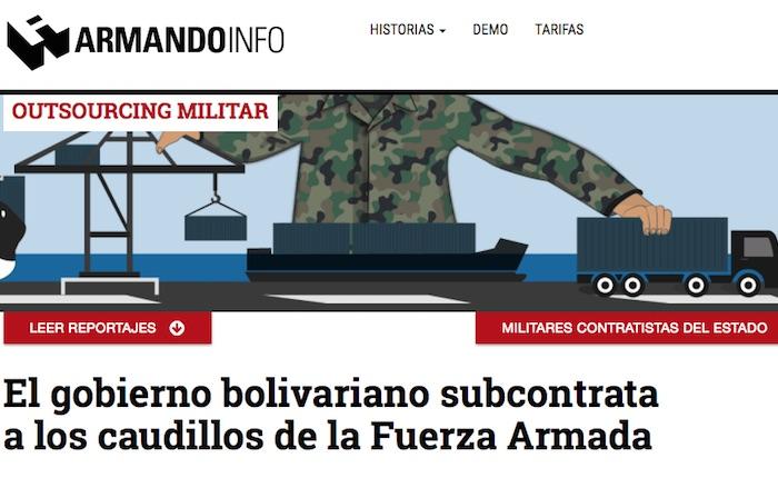 Serie de reportajes sobre militares contratistas del Estado gana premio internacional