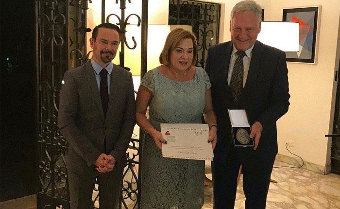 Liliana Ortega recibe el Premio Franco-Alemán de Derechos Humanos y el Estado de Derecho 2017