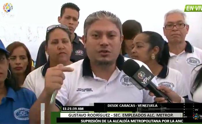 6 mil trabajadores de la Alcaldía Metropolitana quedan sin empleo por su eliminación