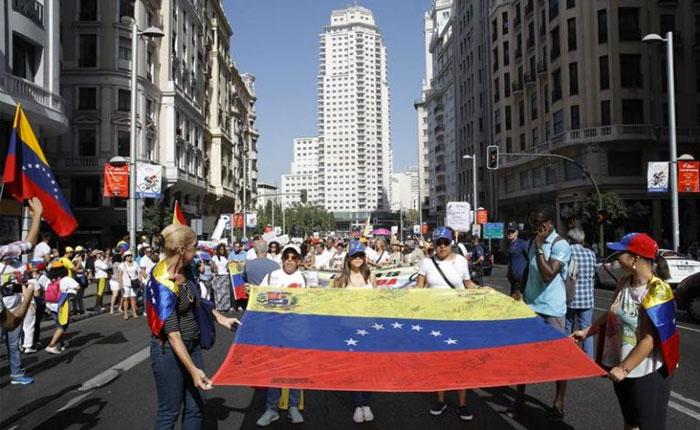 Llegan a España más de 10.000 venezolanos en solo seis meses