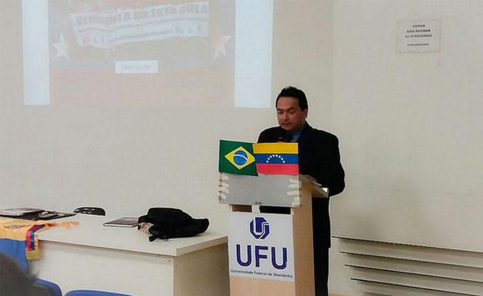 "Brasil declara ""persona non grata"" al representante de Venezuela en Brasilia"