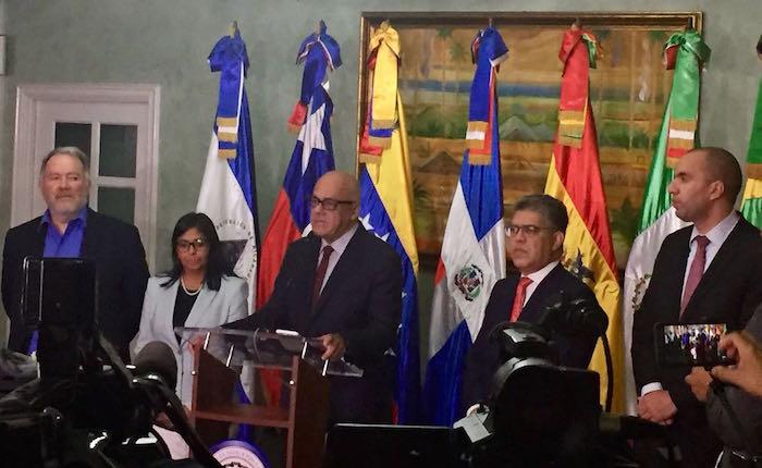 """Rodríguez: """"Estamos tan cerca de un acuerdo que nos citamos para el 15 de diciembre"""""""