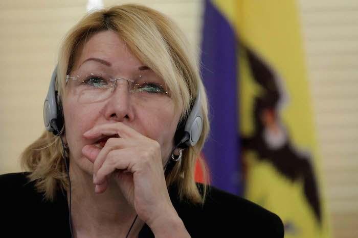 Venezuela's former chief prosecutor Luisa Ortega Diaz attends a meeting with representatives from the Latin American regional trading alliance Mercosur, in Brasilia