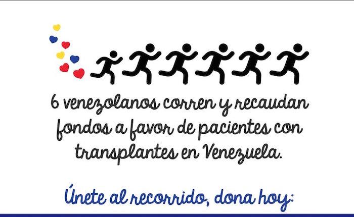 Cinco corredores participarán en Maratón de Houston a beneficio de pacientes trasplantados venezolanos