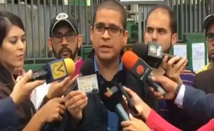 Nicmer Evans denunció proliferación de puntos rojos en Caracas