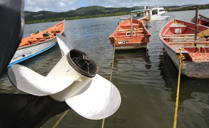 Motores de lanchas, el botín más preciado de los piratas de Higuerote