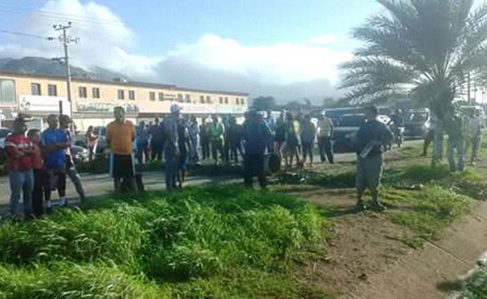 Liberaron a periodistas que cubrían protesta en Margarita por escasez de comida