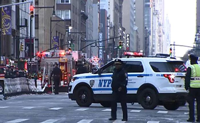 Cuatro heridos dejó explosión en Times Square