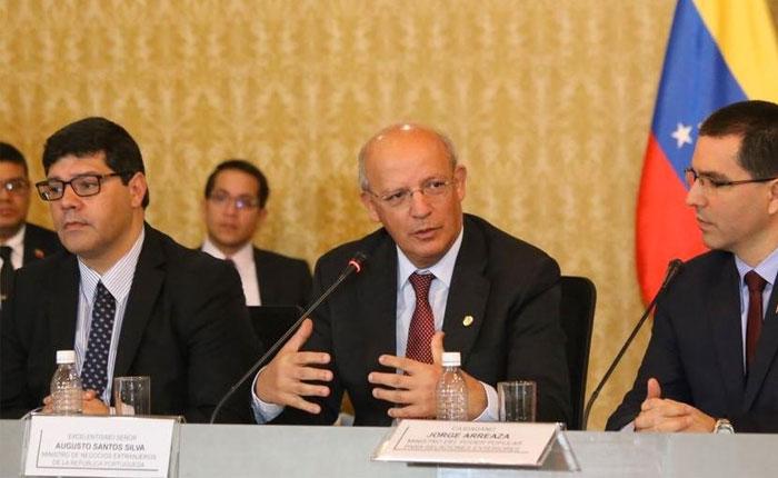 Canciller de Portugal: Tenemos la disponibilidad de apoyar a Venezuela con alimentos y medicinas